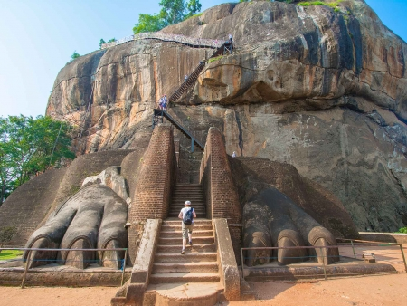 Sigiriya, Rocher du Lion et safari