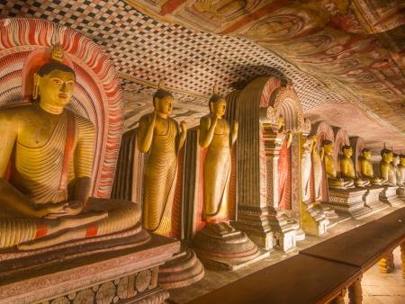 Temple rupestre de Dambulla