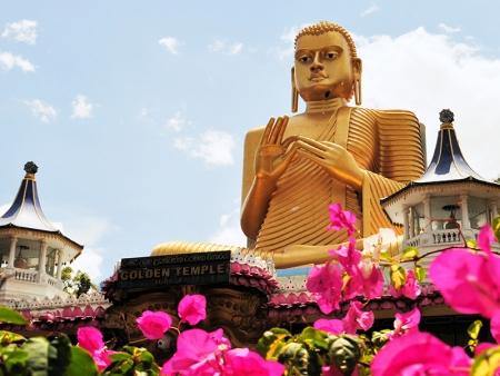 Le temple préservé de Dambulla