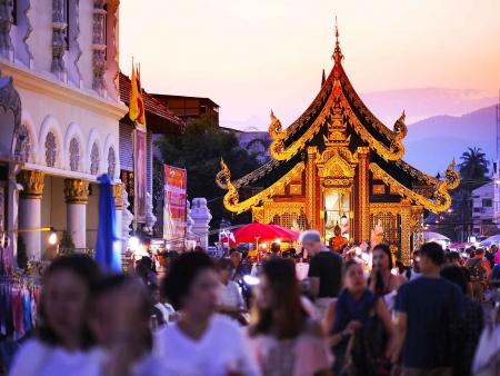 Marchés artisanaux de Chiang Mai
