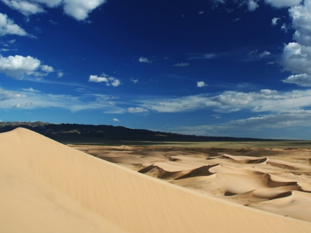 Les dunes de sable chantantes