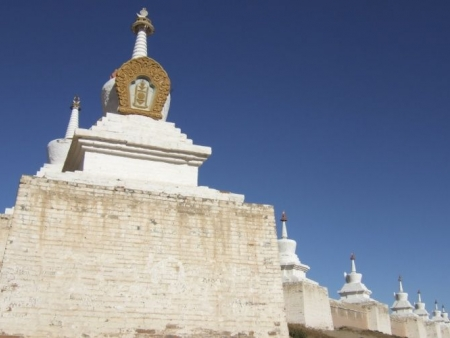Karakorum, monastère d'Erdene Zuu