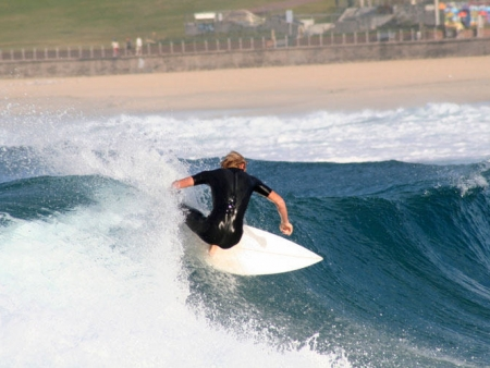 Sea, surf and sun