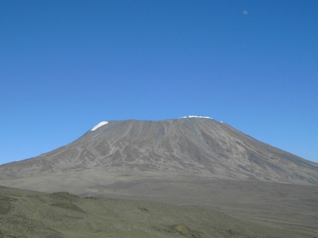 Début de l'ascension du Kilimandjaro
