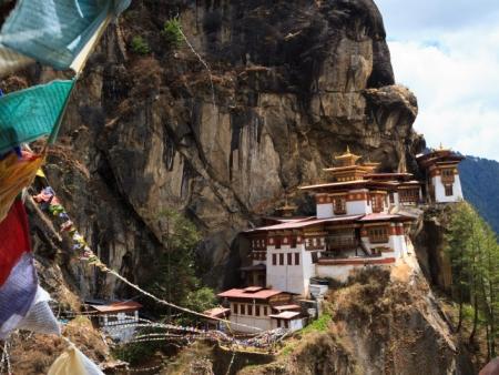 Arrivée et première découverte du Bhoutan