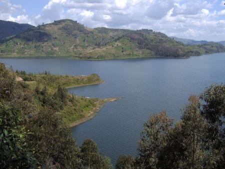 Au bord du lac Kivu