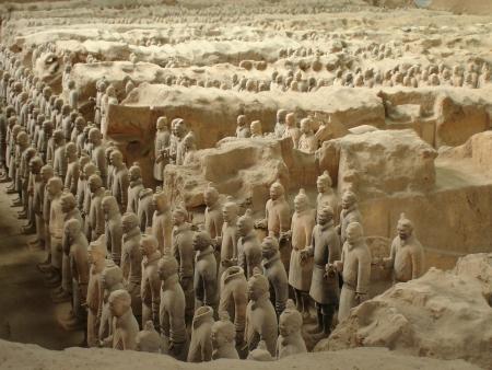 Armée de Terre cuite de Xian