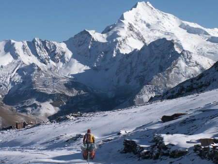 Vues sur l'Everest!