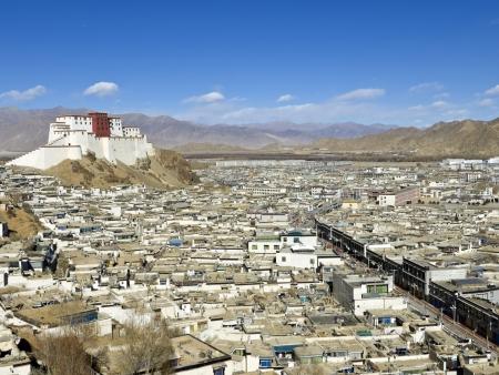 Shigatsé, résidence du panchen lama