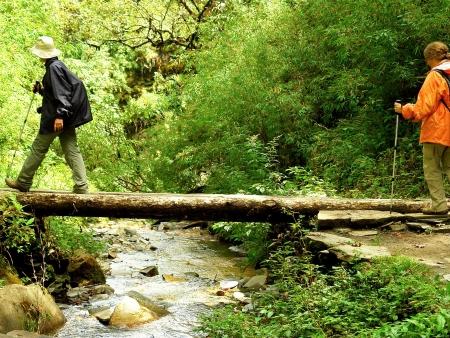 Début de la randonnée