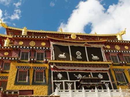 Le Temple Dabao Si, Temple de Songzalin, le Lac Bitahai et le Lac Shudu