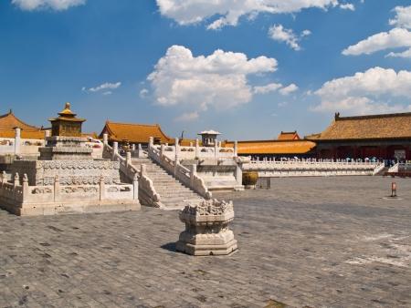 Temple du Ciel, Place Tian An men et Cité interdite, le cœur de la capitale chinoise..