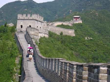 La Grande muraille Mutianyu et Fabrique de cloisonnés
