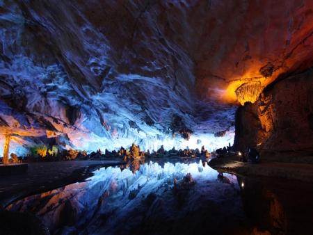 La Grotte de la Flûte de Roseaux