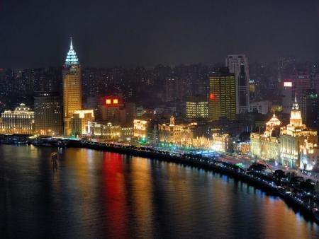 Le Bund et la rue de Nanjing