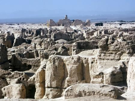 Découverte des ruines de Gaochang