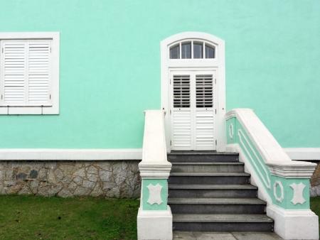 Les maisons colorées de Taipa