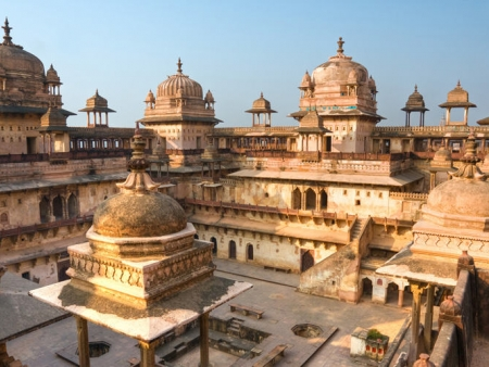 Visite du palais d'été de Madhav Vilas