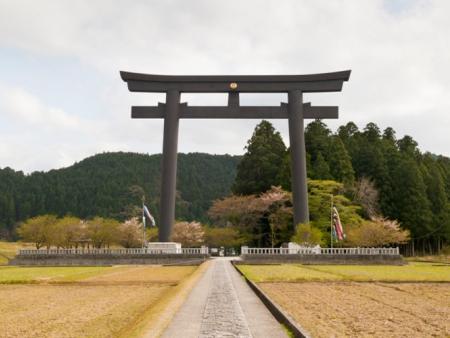 Le sanctuaire de Kumano Hongu