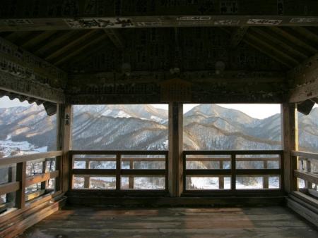 En haut de la montagne : Yama-dera