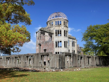 White Heron Castle, Kokuen garden, monuments in Hiroshima and Miyajima