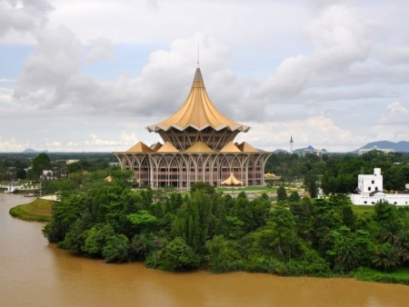 Arriving in Borneo and visiting Kuching