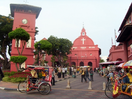 Arriving in Malaysia and visiting Malacca