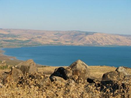 Sur les rives du Lac de Tibériade