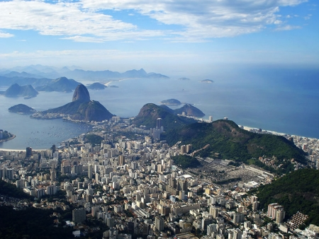 Le centre ville de Rio et le Pain de sucre