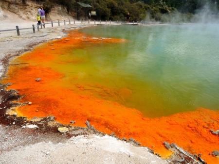 Rotorua, entre géothermie et légendes Maories