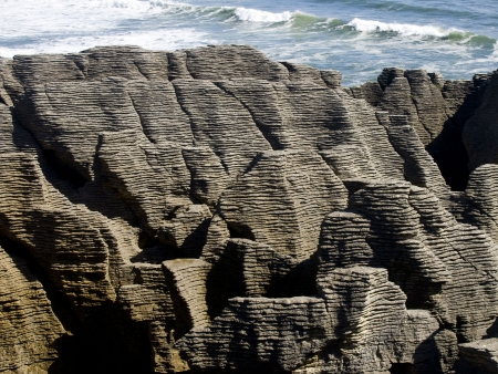 La côte sauvage de Punakaiki