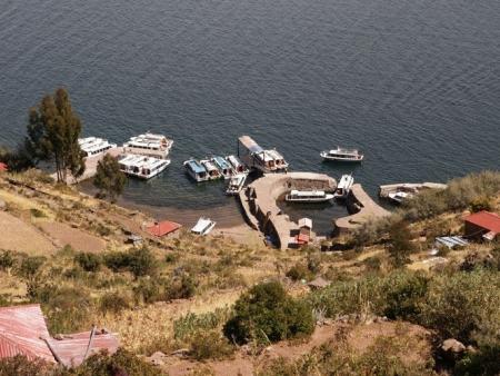 Sur l'île de Taquile