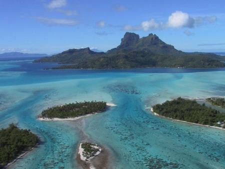 Le tour de l'île