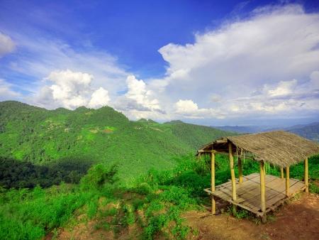 Au cœur des montagnes et plantations