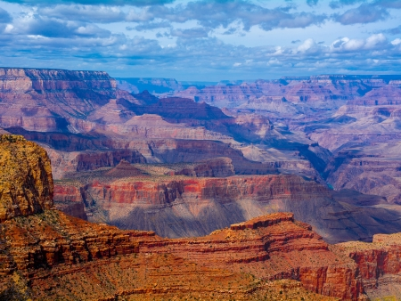 Dans Le Grand Canyon !