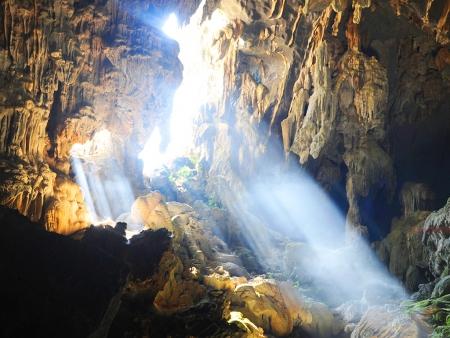 Les grottes de Vang Vieng