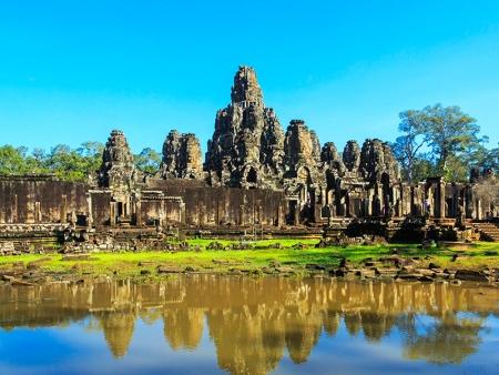 Le site d'Angkor à vélo