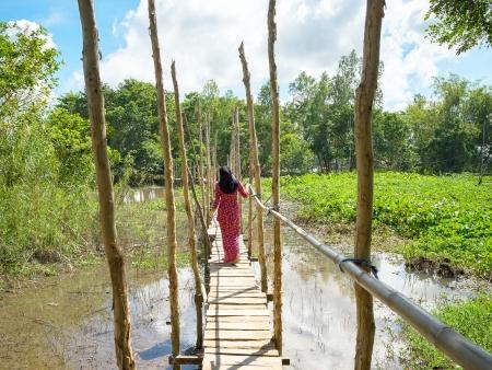 Vie amphibie du Delta du Mékong