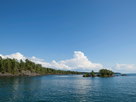 Sur les rives du lac Vättern