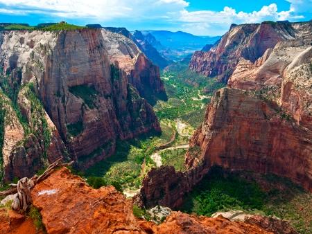 Découvrez le parc de Zion avec ses paysages surprenants
