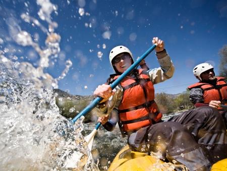Rafting au cœur des fjords