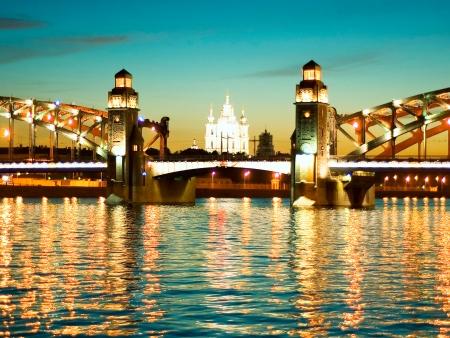 Départ de Saint Pétersbourg
