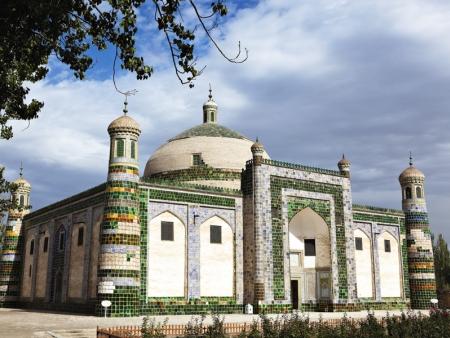 Les tombeaux Abak Hodja, un trésor architectural