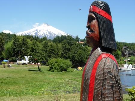 Dans la peau d'un Mapuche