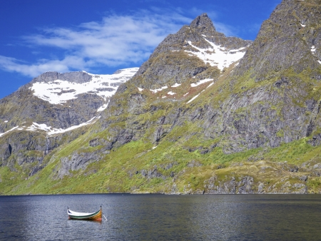 Plaisir de l'eau sur le Hardanggerfjord