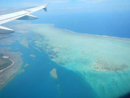 Départ pour les Iles Fidji