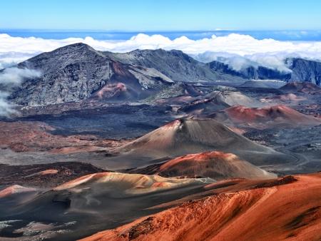 Volcan éteint Haleakala