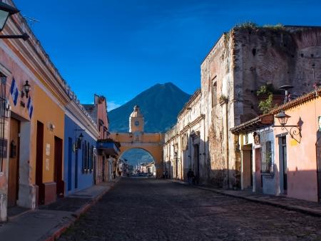 Découverte de la ville coloniale d'Antigua