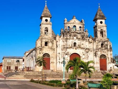 Joyaux colonial de l'Amérique Centrale
