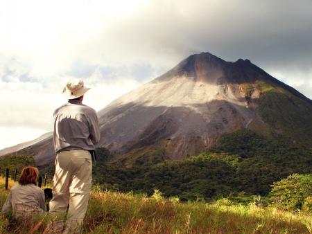 Sur les traces du volcan Arenal